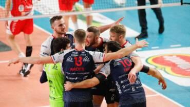 Vittoria al Pala Parenti, Bergamo si impone 3-1 nella tana dei Lupi