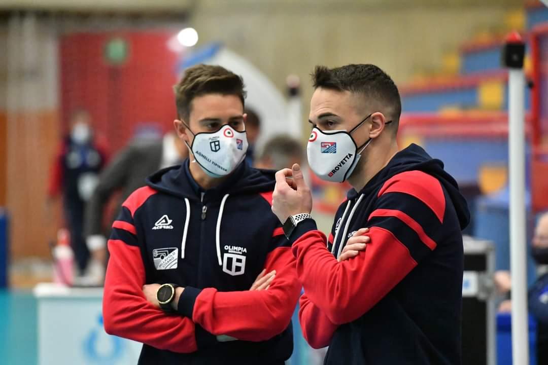 """Parola a Finoli e Mancin, insieme allo staff tecnico:""""Lavorare con Graziosi una grande esperienza"""""""