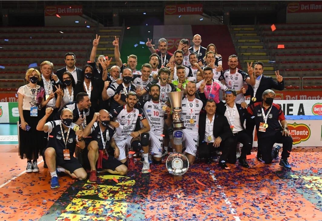 Bergamo si aggiudica la prima edizione della Del Monte Supercoppa