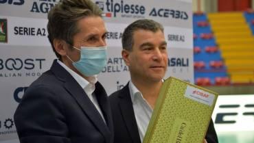 """Vice Presidente Callioni: """"Auspichiamo un Pala Pozzoni al 50%"""""""