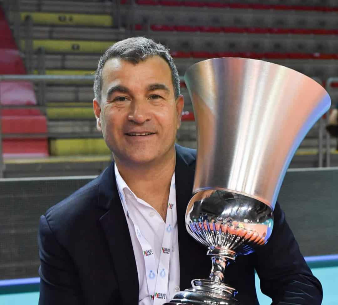 Coach Gianluca Graziosi premiato miglior allenatore della serie A2!